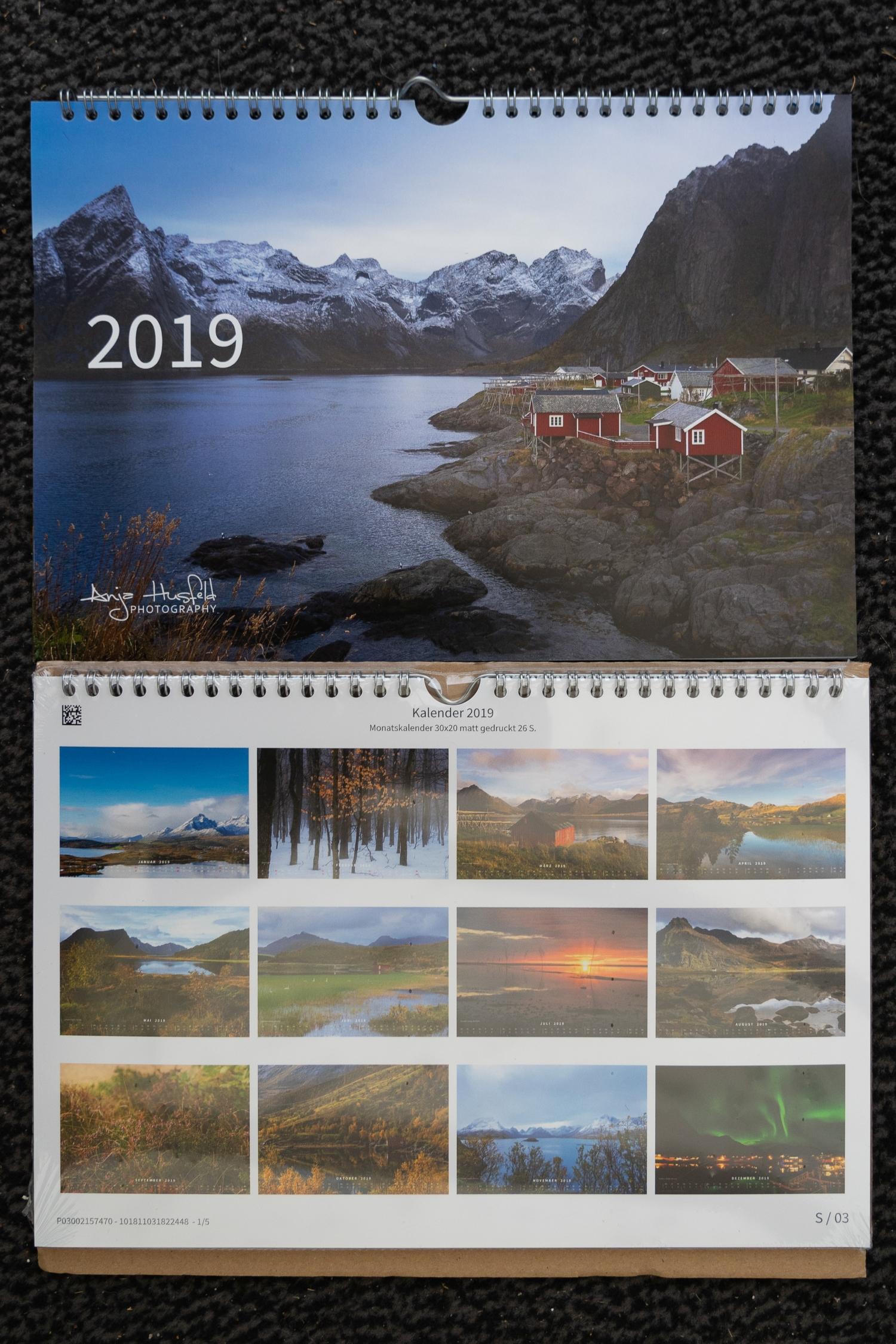 Wie, noch keinen Kalender für 2019?