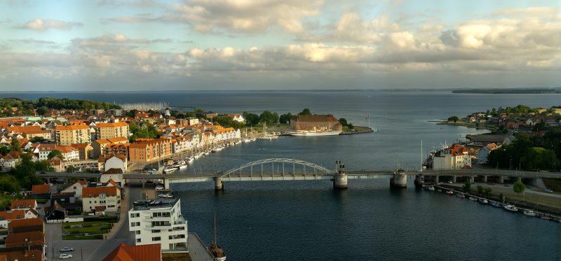 Sønderborg Panorama aus dem Alsik Hotel