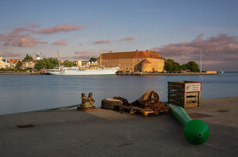 Am Hafen in Sønderborg