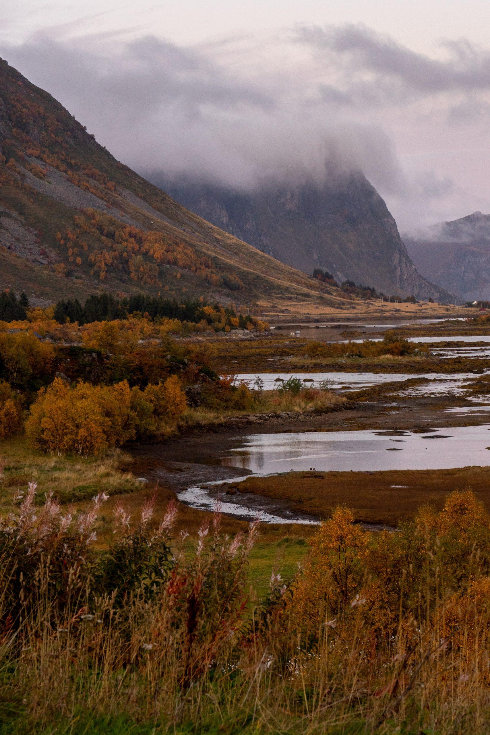Lofoten im Herbst