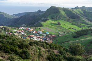 Aussicht am Mirador de Jardina, Tenerife