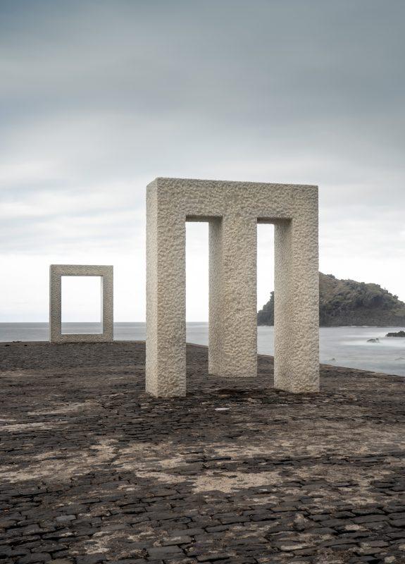 Jahresrückblick 2019, Tensei Tenmoku (Tür ohne Tür) des japanischen Künstlers Kan Yasuda in Garachico, Teneriffa