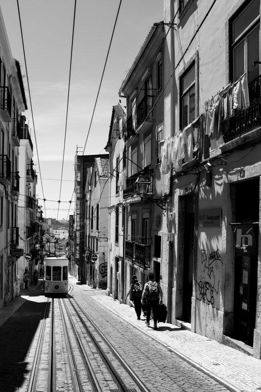 Jahresrückblick 2019, Lissabon, Elevador Bica