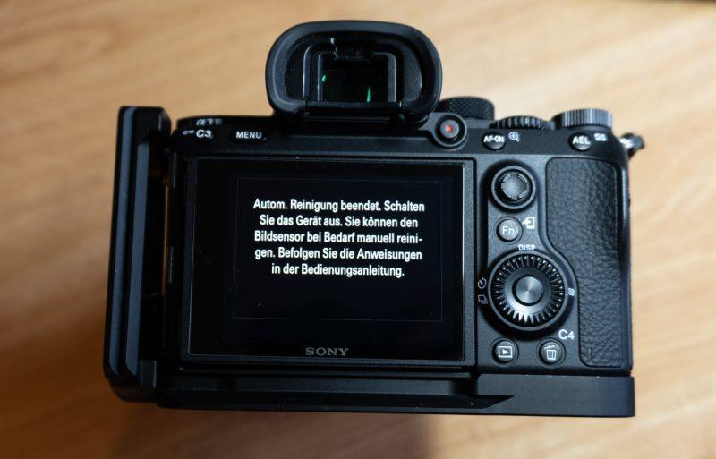Menü Sony A7III