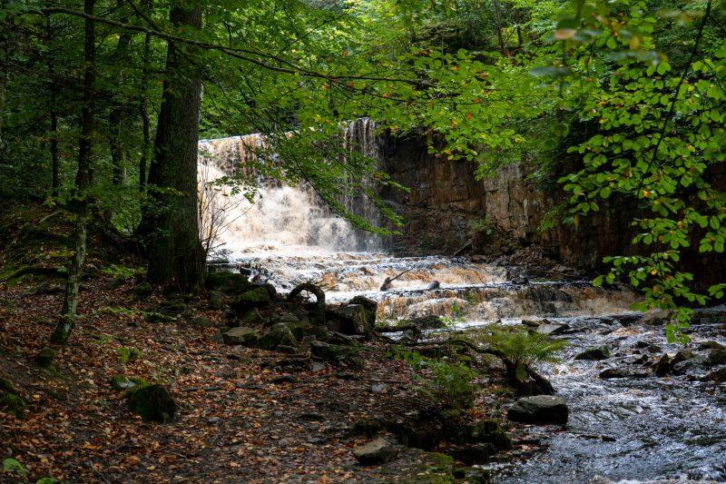 Wasserfall Byklevsfallet