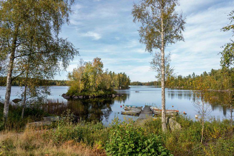 Schweden, Idylle am See