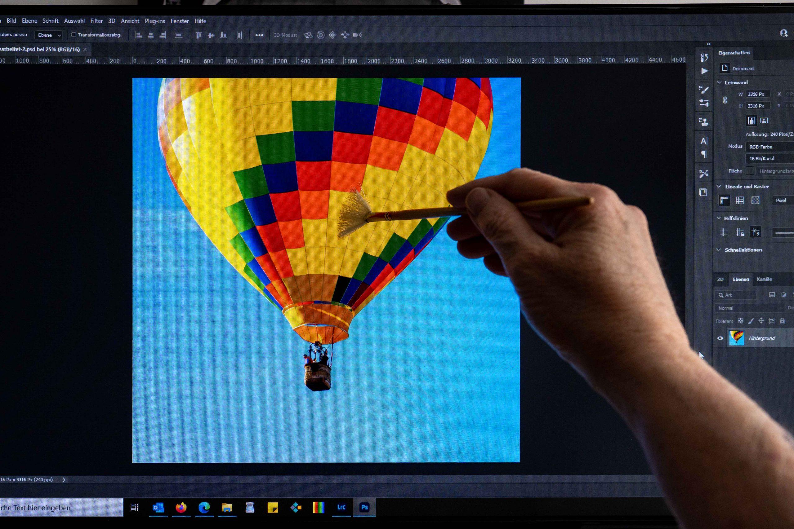 Ist Bildbearbeitung nur Verbesserung oder schon Manipulation?